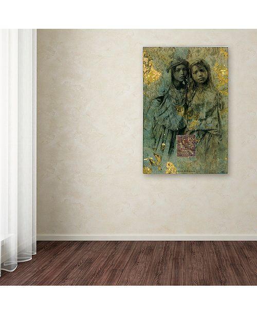 "Trademark Global Nick Bantock 'Mauresque Sisters' Canvas Art, 22"" x 32"""