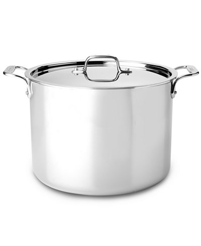 All-Clad Stainless Steel 12 Qt. Covered Stockpot