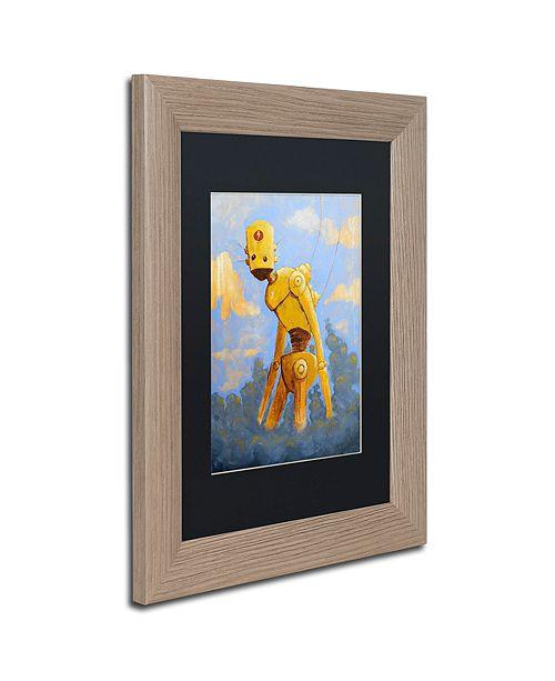 "Trademark Global Craig Snodgrass 'In The Clouds' Matted Framed Art, 11"" x 14"""