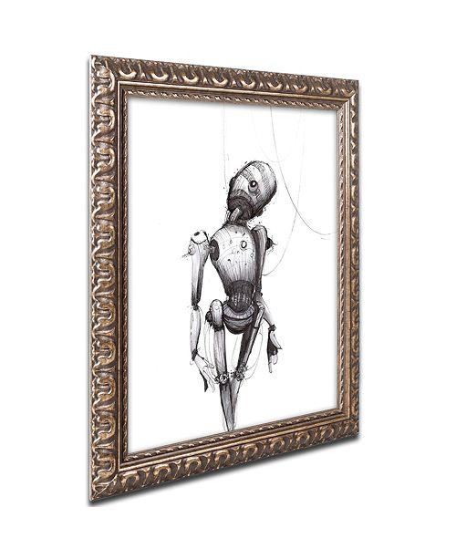"Trademark Global Craig Snodgrass 'Disconnect' Ornate Framed Art, 16"" x 20"""