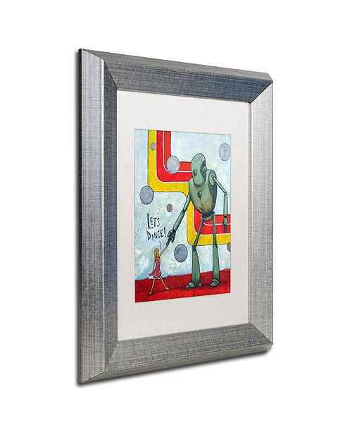 "Trademark Global Craig Snodgrass 'Let's Dance' Matted Framed Art, 11"" x 14"""