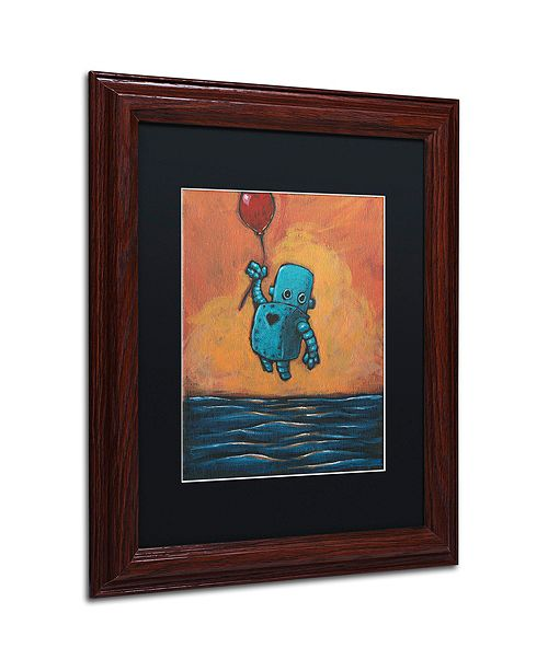 "Trademark Global Craig Snodgrass 'Float II' Matted Framed Art, 11"" x 14"""