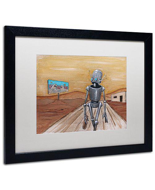 "Trademark Global Craig Snodgrass 'Paradisio' Matted Framed Art, 16"" x 20"""