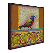 Rachel Paxton 'Painted Bunting' Canvas Art