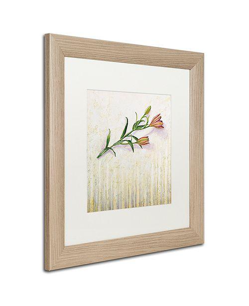 """Trademark Global Rachel Paxton 'Lily Monet' Matted Framed Art, 16"""" x 16"""""""