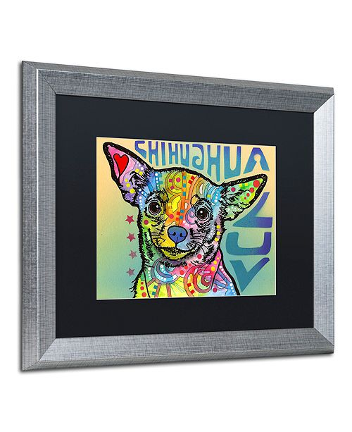 """Trademark Global Dean Russo 'Chihuahua Luv' Matted Framed Art, 16"""" x 20"""""""