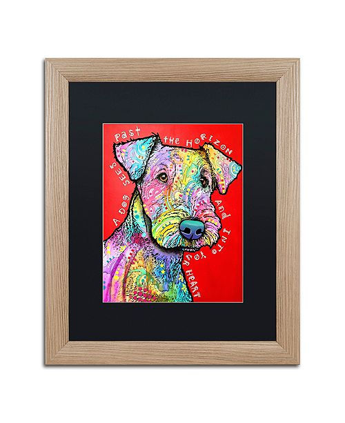 """Trademark Global Dean Russo 'Into Your Heart' Matted Framed Art - 16"""" x 20"""""""