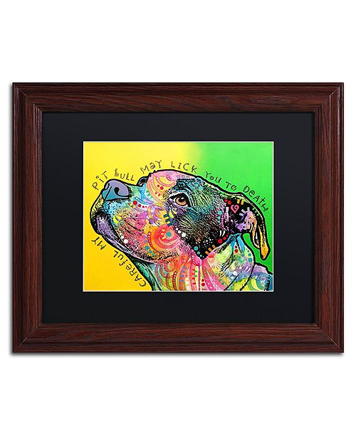 """Trademark Global Dean Russo 'Lick You to Death' Matted Framed Art - 11"""" x 14"""""""