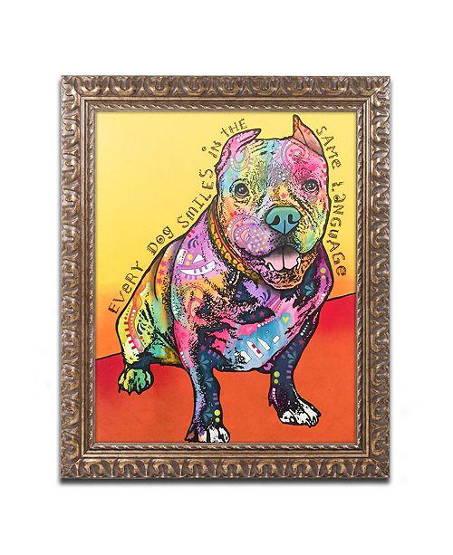 "Trademark Global Dean Russo 'Moses' Ornate Framed Art - 16"" x 20"""