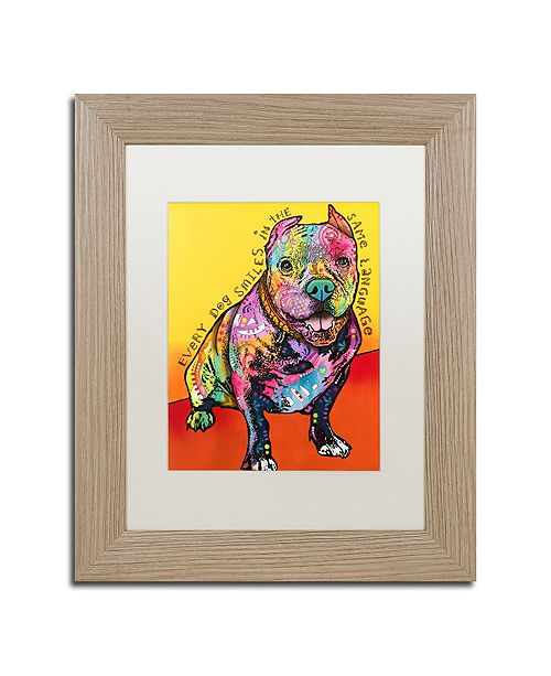 """Trademark Global Dean Russo 'Moses' Matted Framed Art - 11"""" x 14"""""""