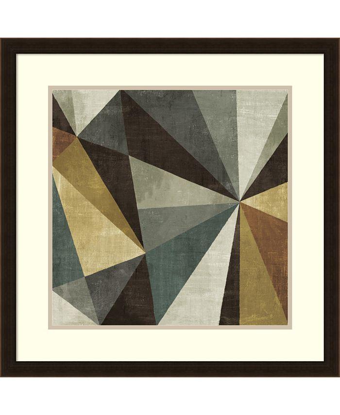 Amanti Art - Triangulawesome 26x26 Framed Art Print