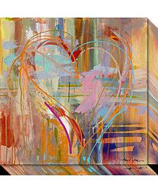 Amanti Art Abstract Heart Canvas Art Gallery Wrap