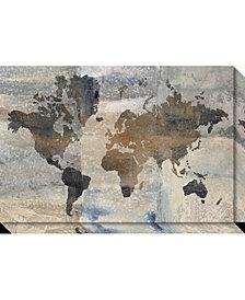 Amanti Art Stone World Canvas Art Gallery Wrap