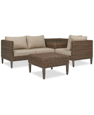 Fantastic La Palma Outdoor Sectional Seating Collection Created For Macys Beatyapartments Chair Design Images Beatyapartmentscom