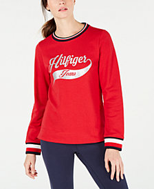 Tommy Hilfiger Logo Sweatshirt, Created for Macy's