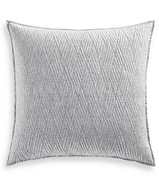 Hotel Collection Lateral 180-Thread Count Quilted European Sham, Created for Macy's