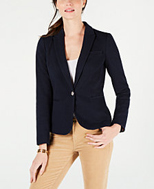 Tommy Hilfiger Single-Button Blazer, Created for Macy's