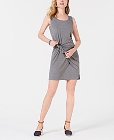 Sleeveless Tie-Front Dress, Created for Macy's