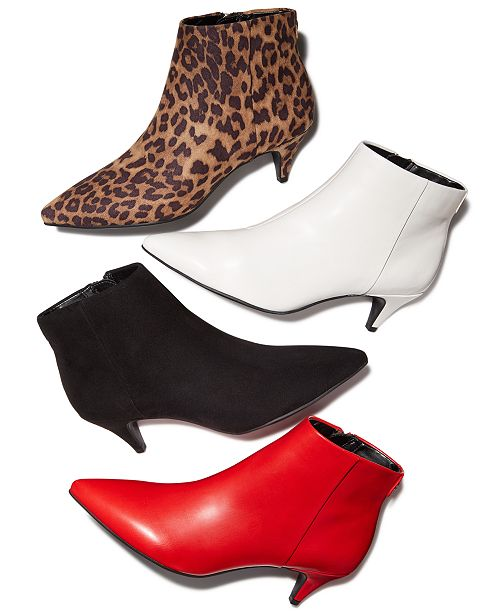 61e6f4a90d Circus by Sam Edelman Kirby Booties, Created For Macy's & Reviews ...