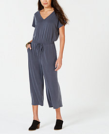 Style & Co Cropped Jumpsuit, Created for Macy's