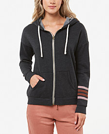 O'Neill Juniors' Denmark Zip-Up Fleece Hoodie
