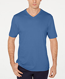 Tasso Elba Men's Supima Cotton Blend  V-Neck Short-Sleeve T-Shirt, Created for Macy's