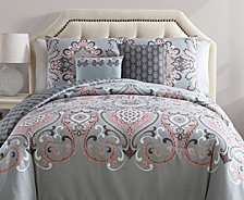 VCNY Home Amherst Reversible 5-Pc. Full/Queen Comforter Set