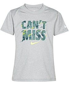 Nike Little Boys Can't Miss-Print T-Shirt