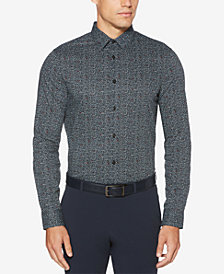 Perry Ellis Men's Floral-Print Shirt