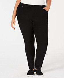 Eileen Fisher Plus Size Skinny Corduroy Pants
