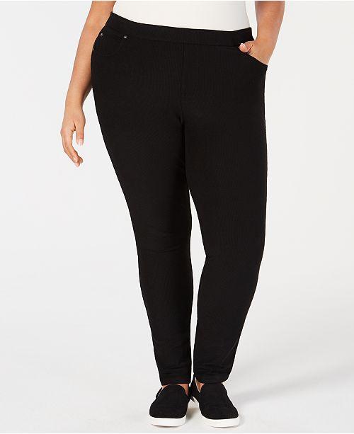 58cc74fbc55a0 ... Skinny Corduroy Pants; Eileen Fisher Plus Size Tencel® Skinny  Corduroy ...