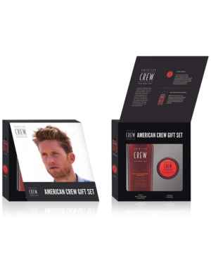 Image of American Crew 2-Pc. Cream Pomade Holiday Gift Set, from Purebeauty Salon & Spa