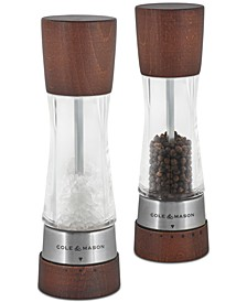 Derwent Forest Wood Salt & Pepper Mill Gift Set