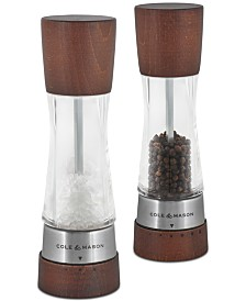 Cole & Mason Derwent Forest Wood Salt & Pepper Mill Gift Set