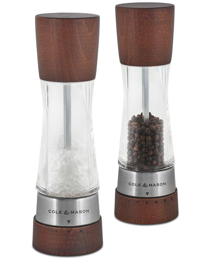 Cole & Mason - Derwent Forest Wood Salt & Pepper Mill Gift Set