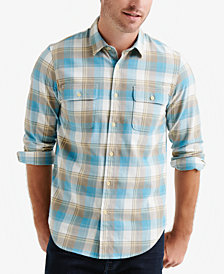 Lucky Brand Men's Plaid Workwear Shirt