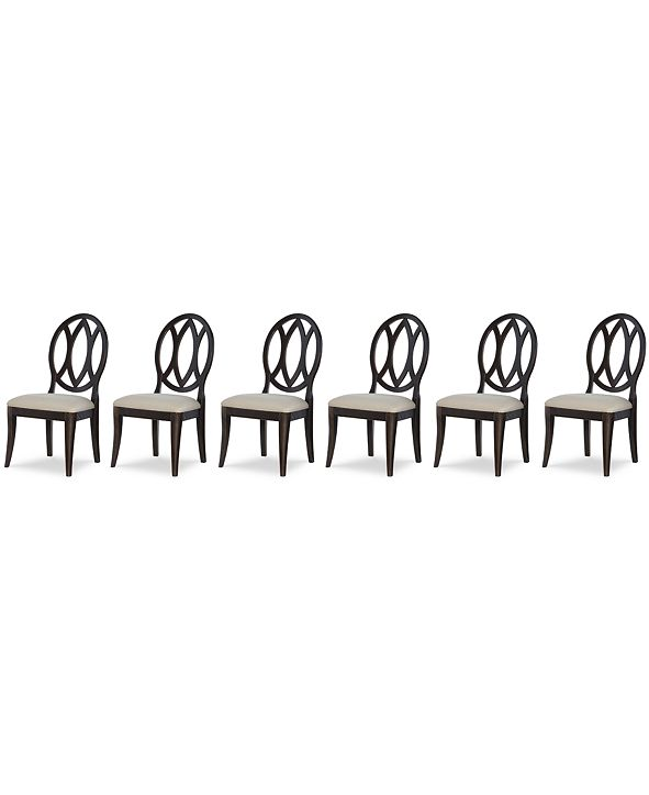 Furniture Rachael Ray Everyday Dining, 6-Pc. Set (6 Oval Back Side Chairs)