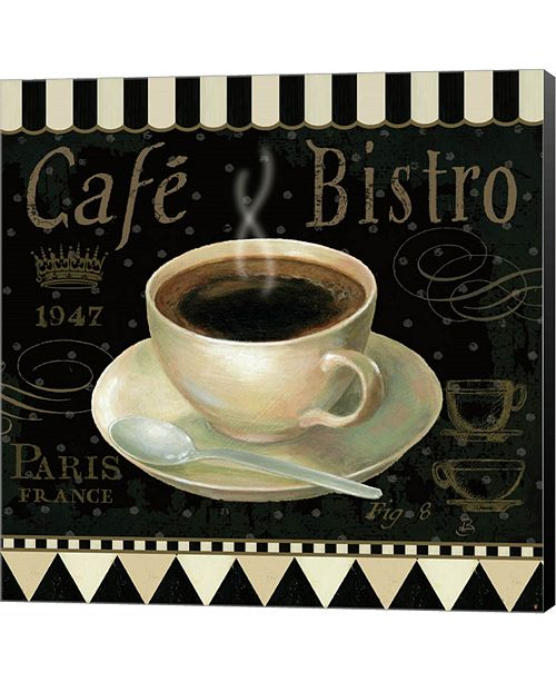 Metaverse Cafe Parisien IV by Pela Studio Canvas Art