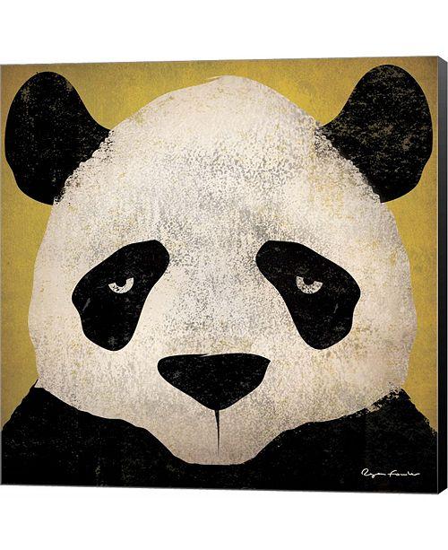 Metaverse Panda by Ryan Fowler Canvas Art