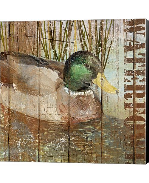 Metaverse Open Season Mallard by Art Licensing Studio Canvas Art