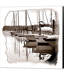 At The Dock 2 by Harold Silverman Canvas Art