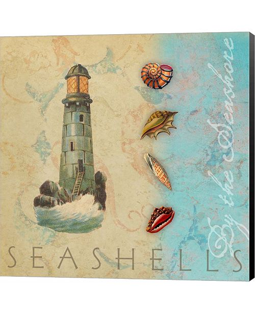 Metaverse By the Seashore by Tammy Apple Canvas Art