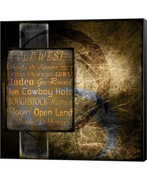 Metaverse Old West by LightBoxJournal Canvas Art