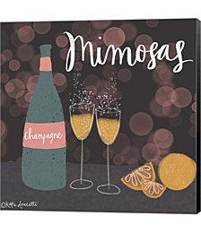Mimosas by Katie Doucette Canvas Art