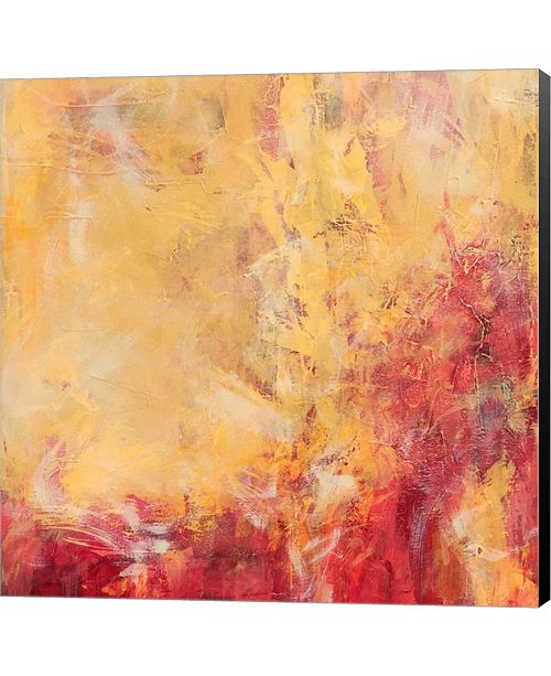Metaverse Warm Afternoon by Leslie Saeta Canvas Art