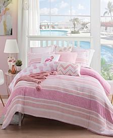 Caribbean Joe Pineapple 4-Piece Comforter Sets