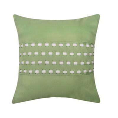 Woven Cord Outdoor Pillow, Lime 18X18