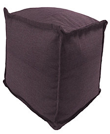 Jordan Manufacturing  Outdoor Square Pouf - 1 Pack