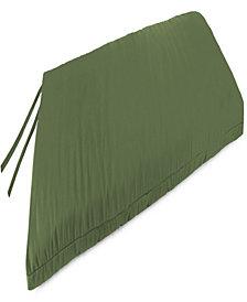 Jordan Manufacturing   Outdoor Bench Cushion - 1 Pack