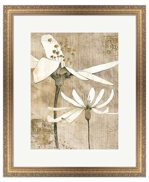 Metaverse Pencil Floral II by Avery Tillmon Framed Art